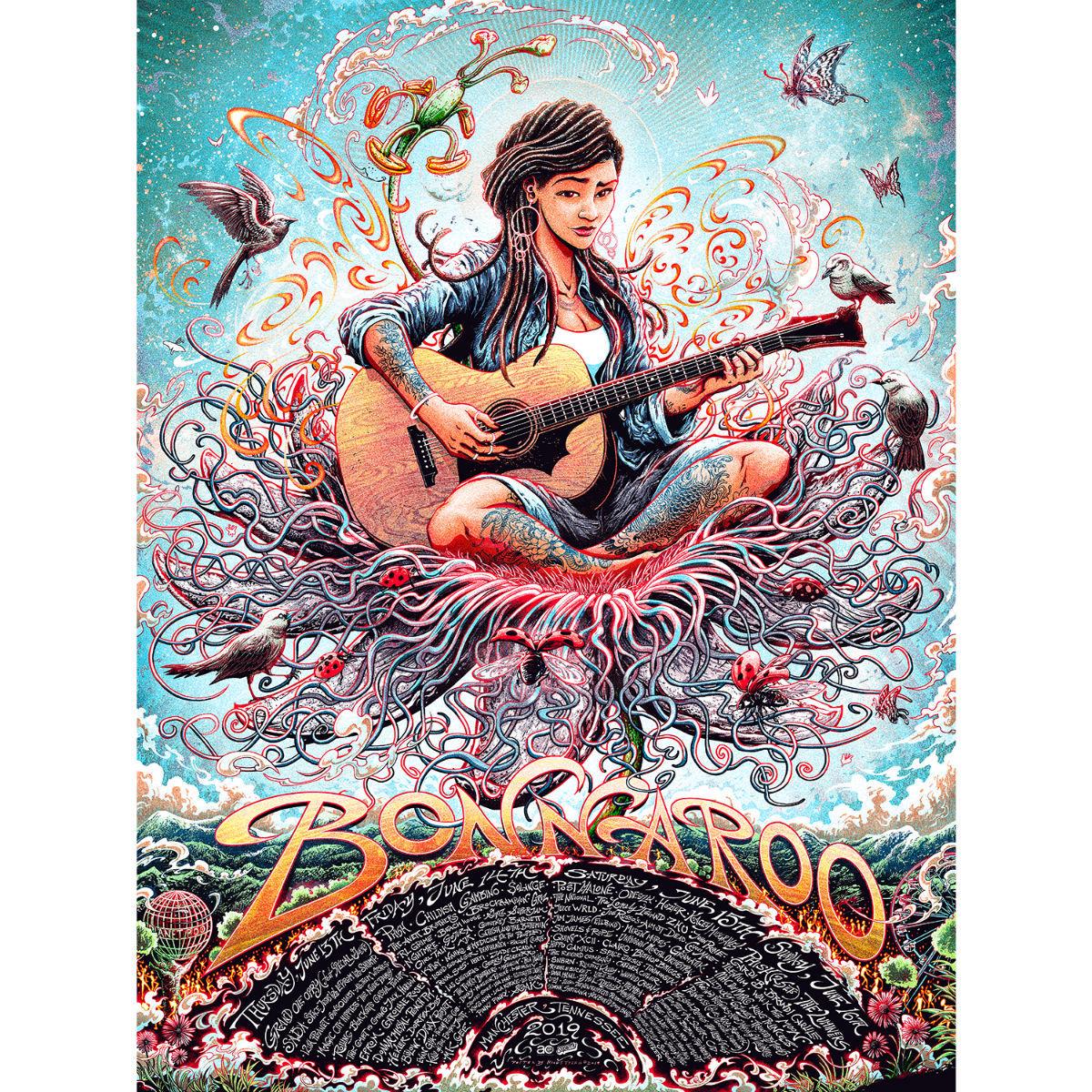 Guitar Poster by Miles Tsang