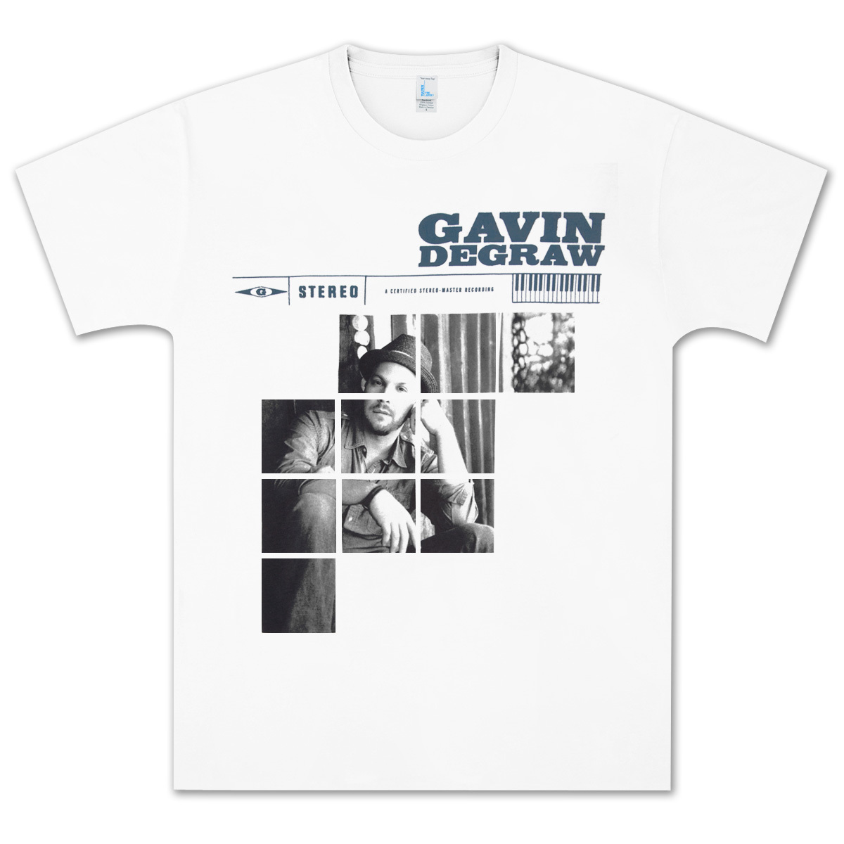 Gavin DeGraw - Photo Block T-Shirt