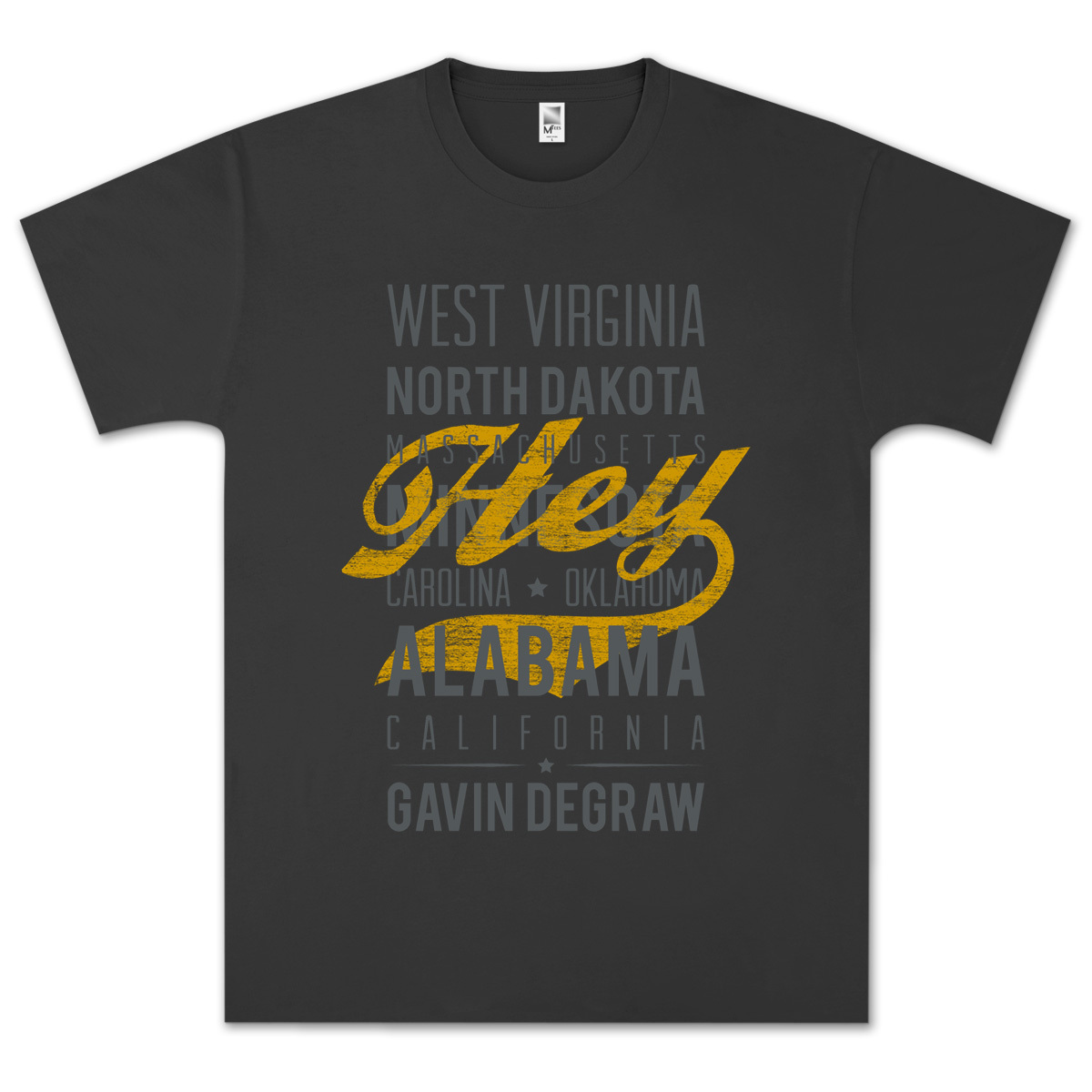 Gavin DeGraw - Hey T-Shirt
