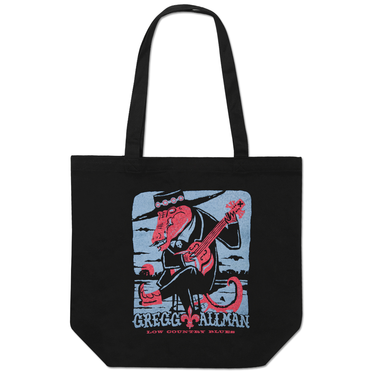 Gregg Allman Low Country Blues Tote Bag