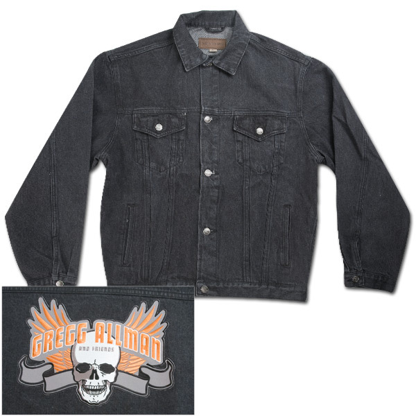 Gregg Allman Black Denim Jacket