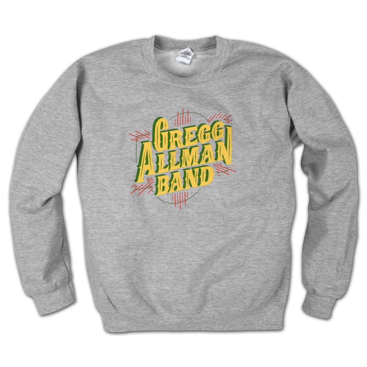Gregg Allman Grey Crewneck Sweatshirt