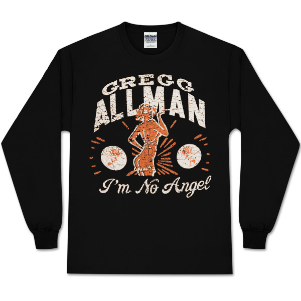 Gregg Allman Women's Long-sleeved I'm No Angel Tee