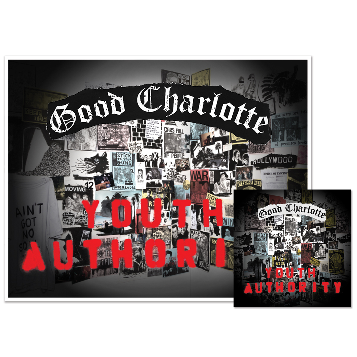 Youth Authority CD + Signed Litho
