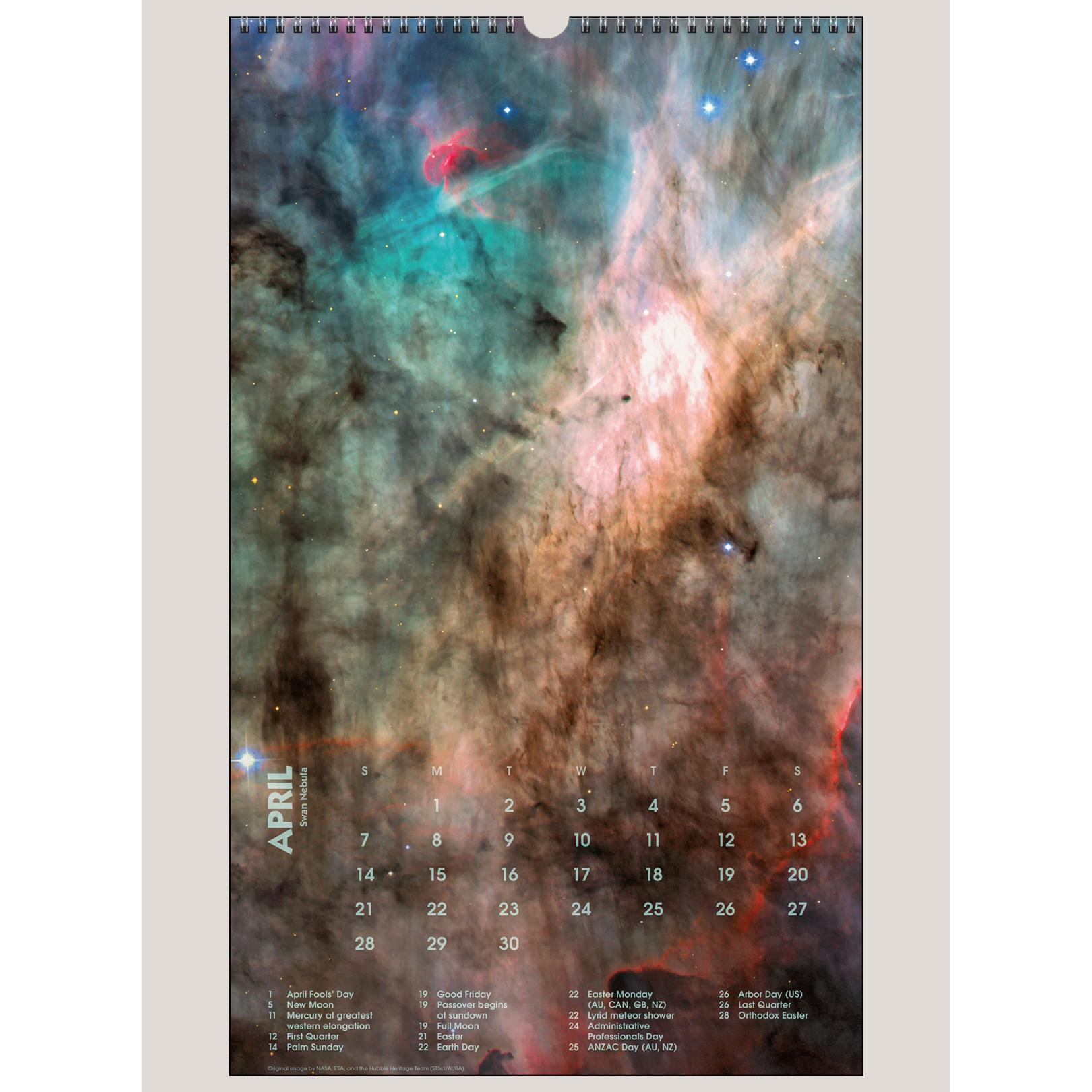 "2019 Deep Space 12"" x 20"" BIG PICTURE™ CALENDAR"