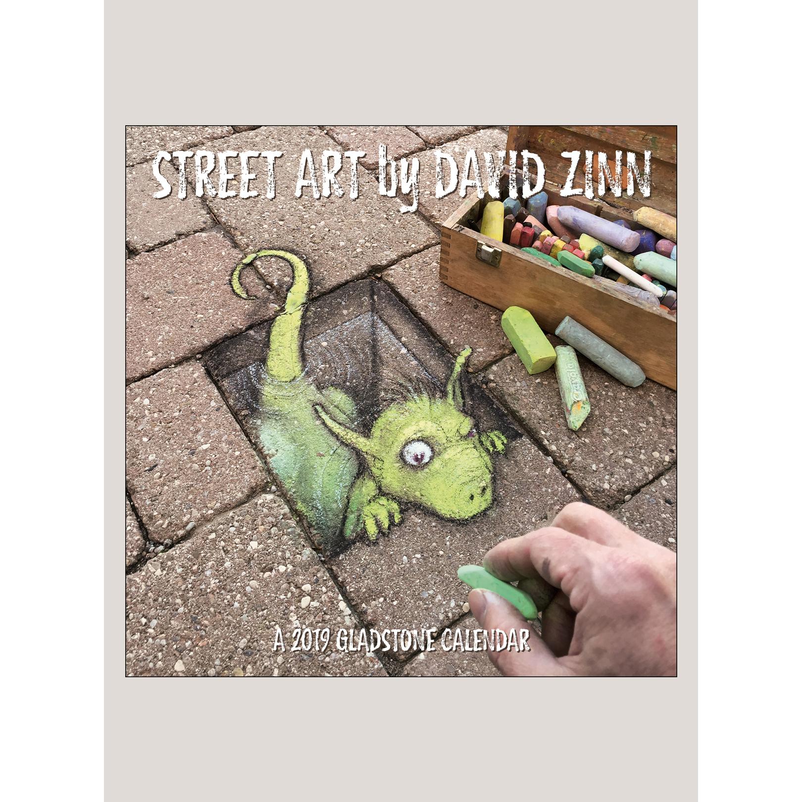"""2019 Street Art 12"""" x 12"""" WALL CALENDAR"""
