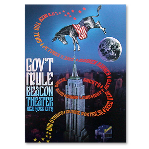 Gov't Mule Oct 2002 New York City Beacon Theatre Event Poster