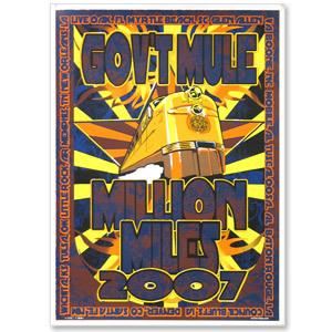 Gov't Mule 2007 Spring Tour Poster