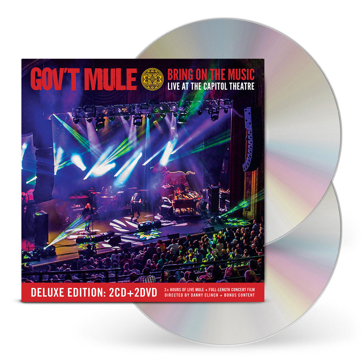2-CD / 2-DVD Deluxe Edition: Bring On The Music / Live At The Capitol Theatre