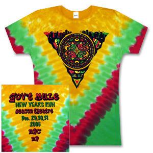 Gov't Mule 2007 Beacon Theater Ladies Tie-Dye