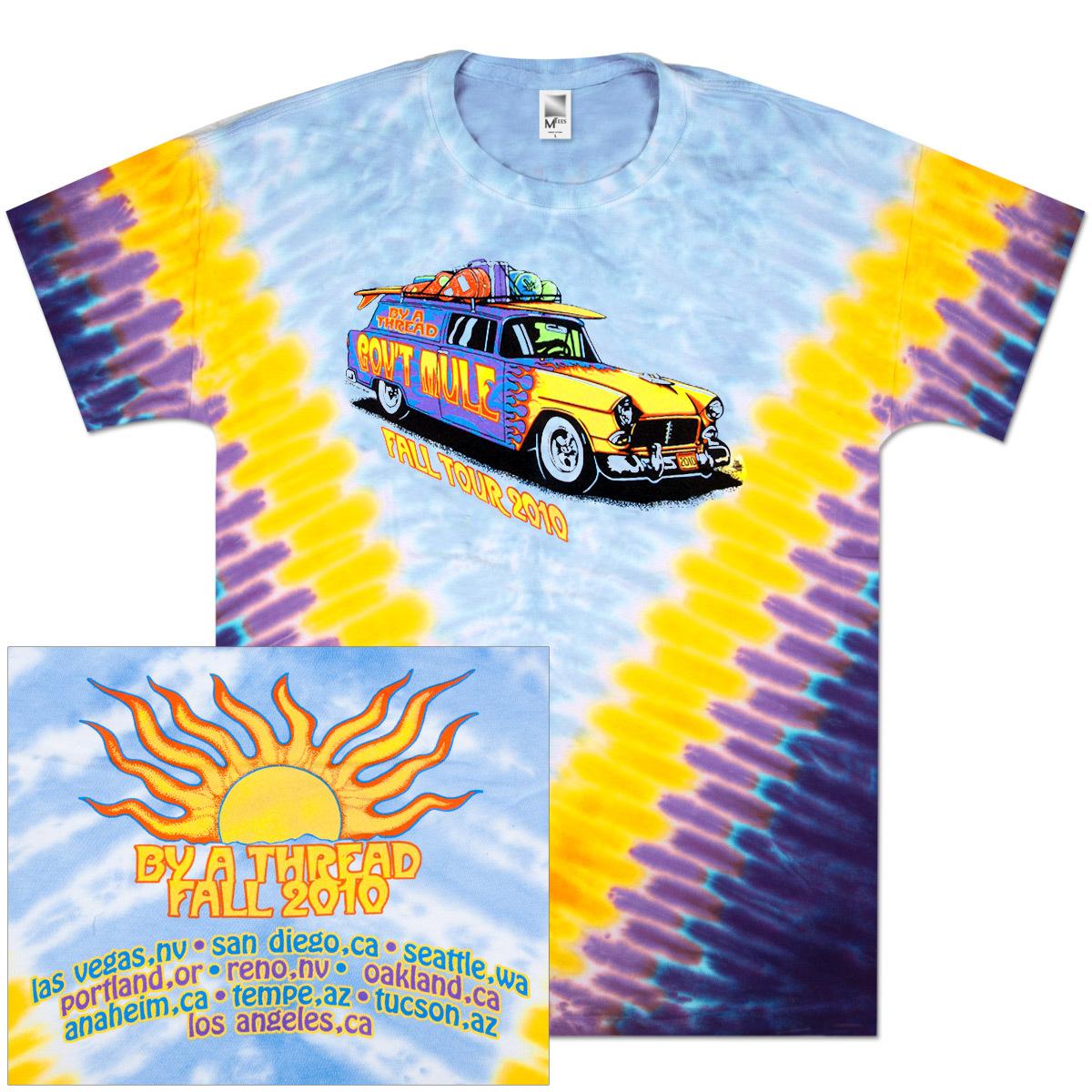 Gov't Mule 2010 Fall Tour Tie-Dye