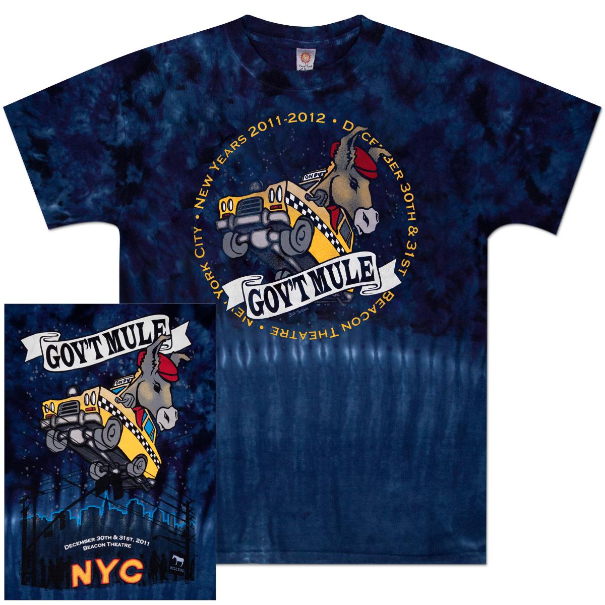 Gov't Mule 2011-2012 New Year's Run Tie-Dye