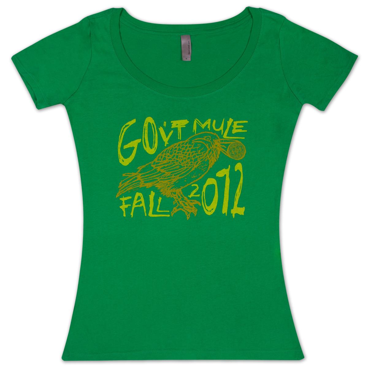 Gov't Mule Ladies Fall 2012 Bird logo T-Shirt