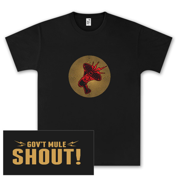 Gov't Mule Shout! T-Shirt