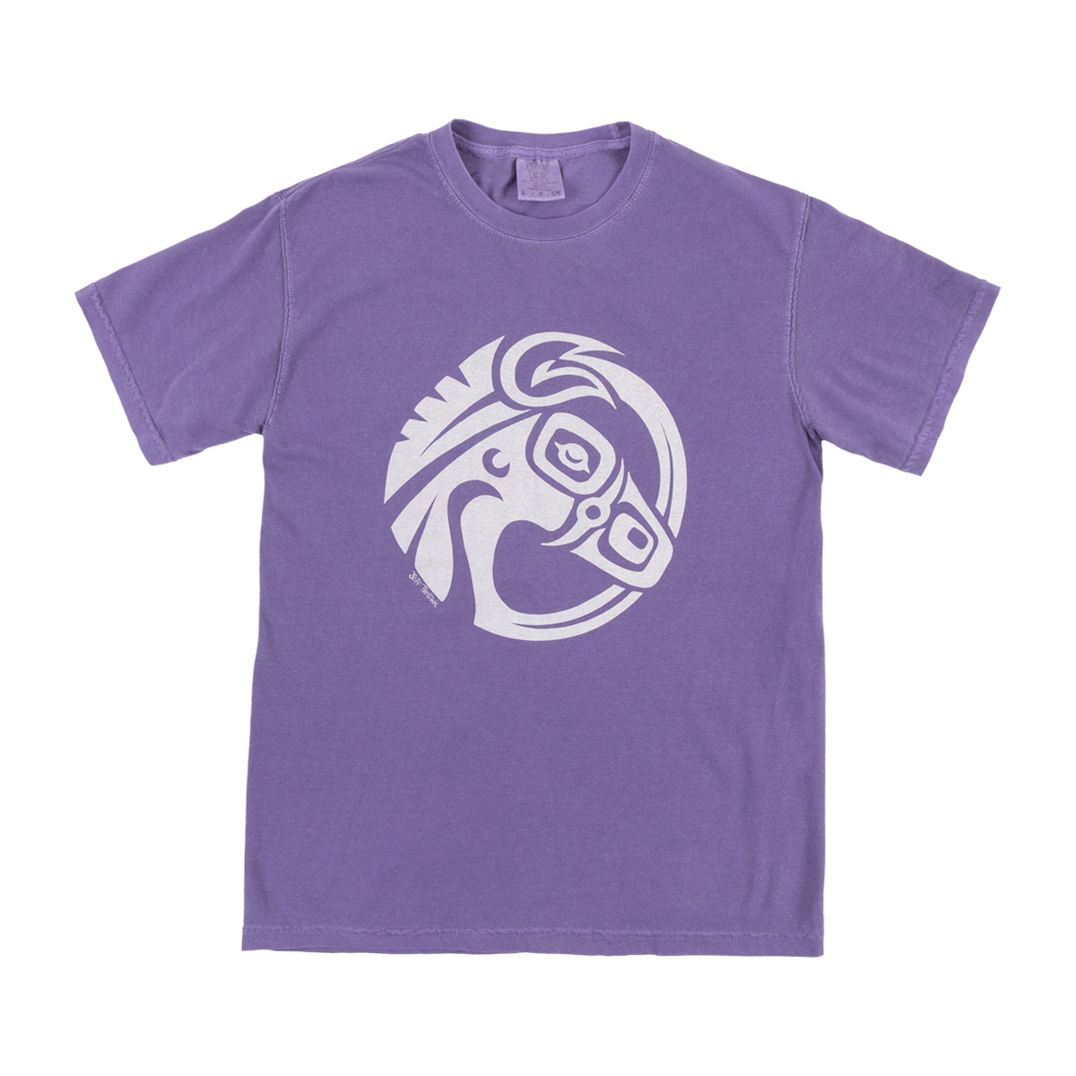 Mulehead Grape Pigment Dye T-Shirt