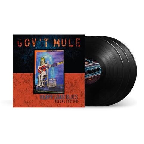 Gov't Mule Heavy Load Blues Deluxe Black Vinyl