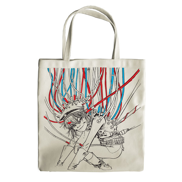 2014 has been such a great year i got the gorillaz tote bag i wanted for christmas
