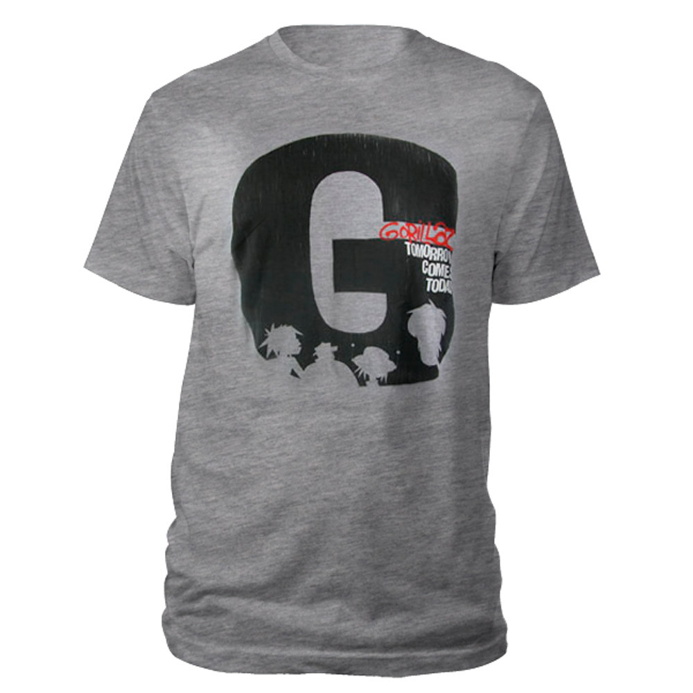 New - Gorillaz Tomorrow Comes Today T-Shirt