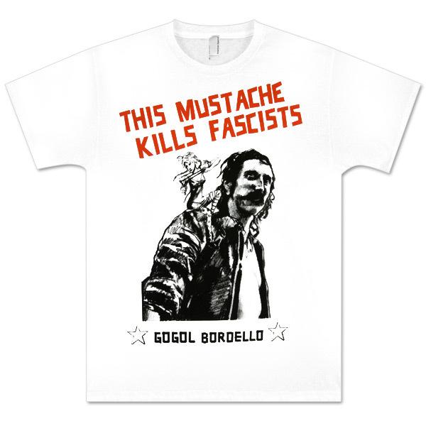 This Mustache Kills Fascists T-Shirt