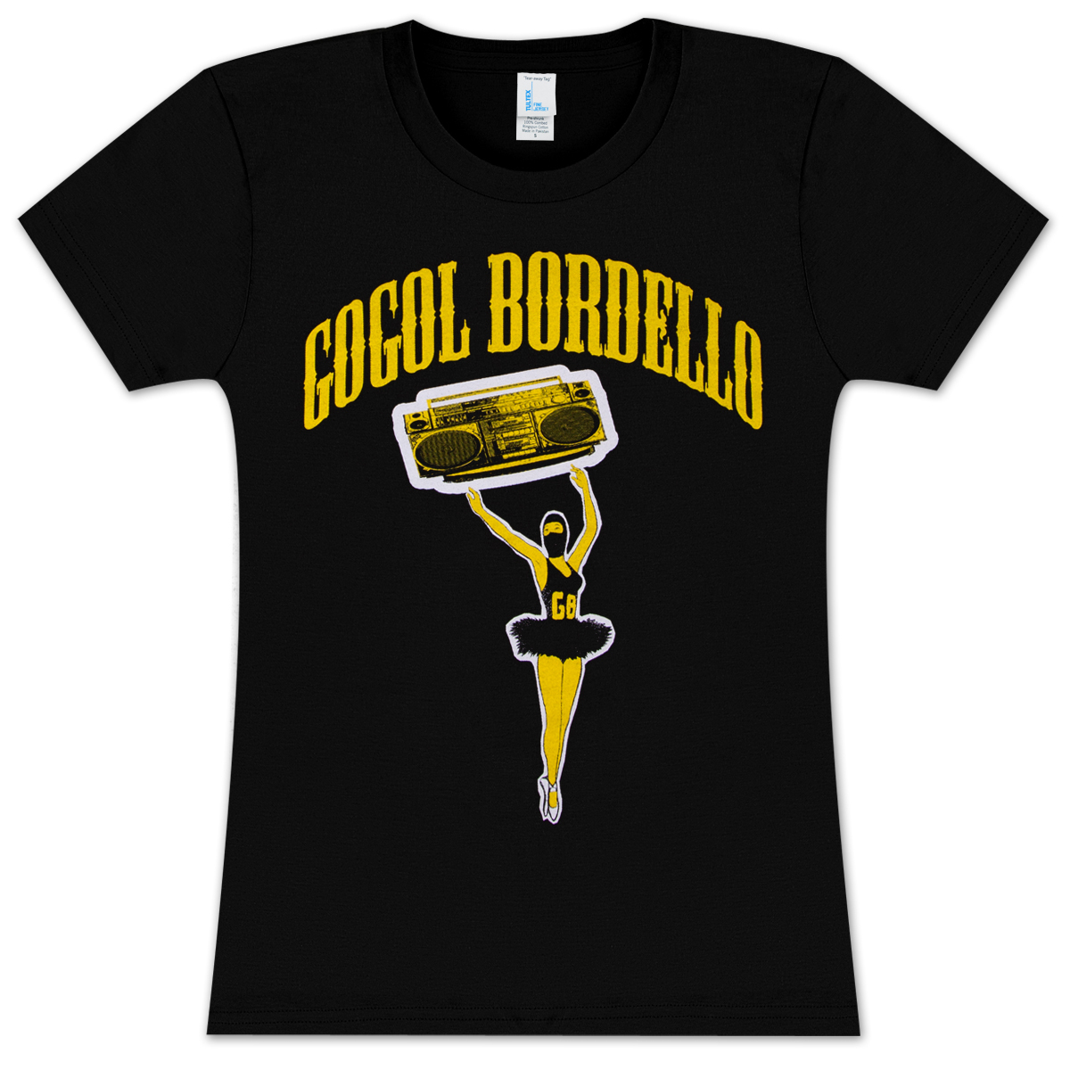 Gogol Bordello Ballerina T-Shirt - Ladies