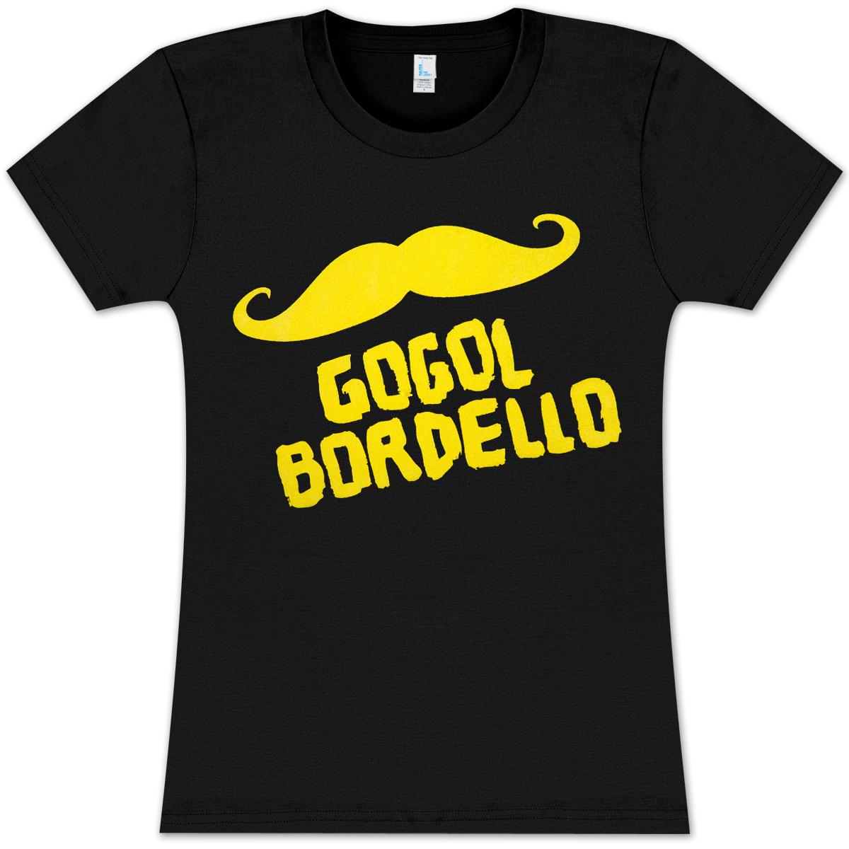 Mustache Crew-Neck T-shirt - Ladies