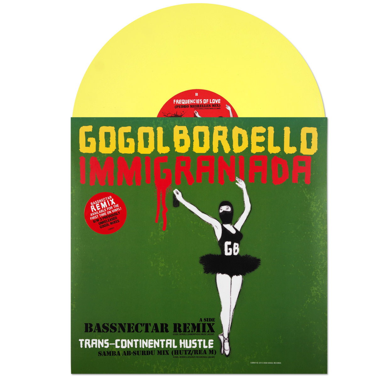 "Gogol Bordello 12"" Remix LP"