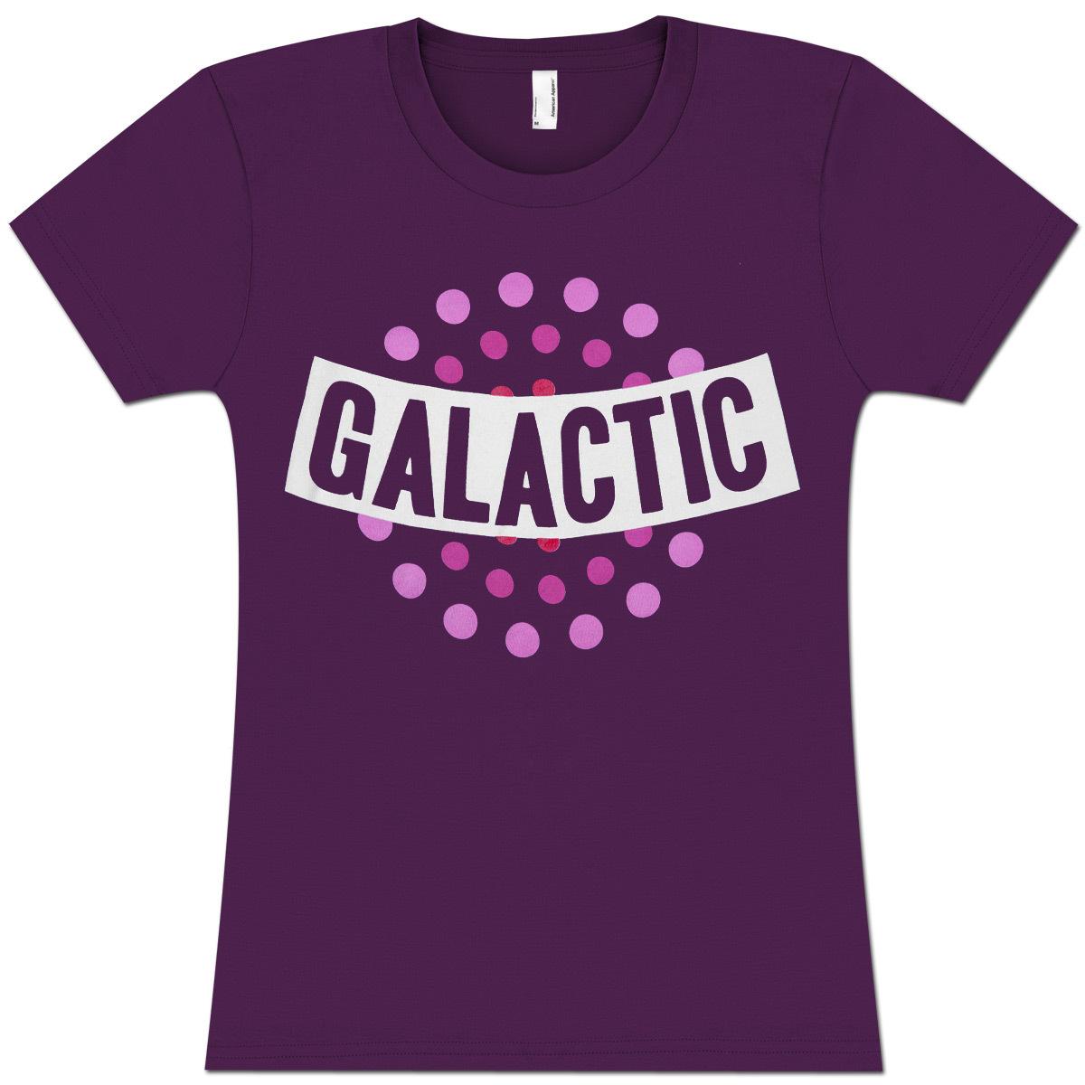 Purple Dots Ladies T-Shirt
