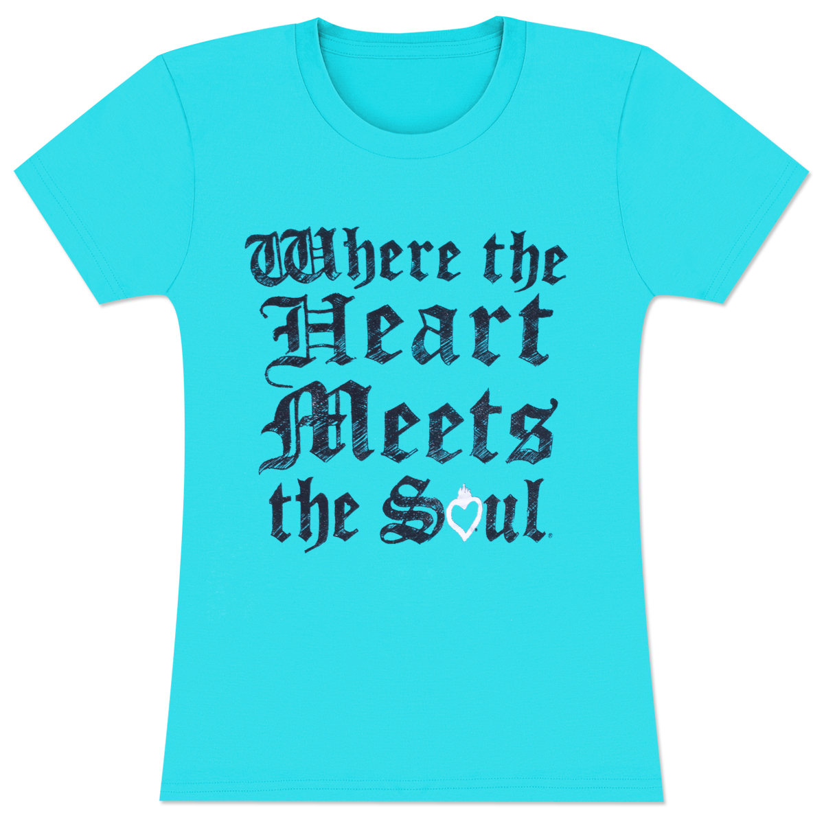House of Blues Turquoise Soul Wings Women's shirt