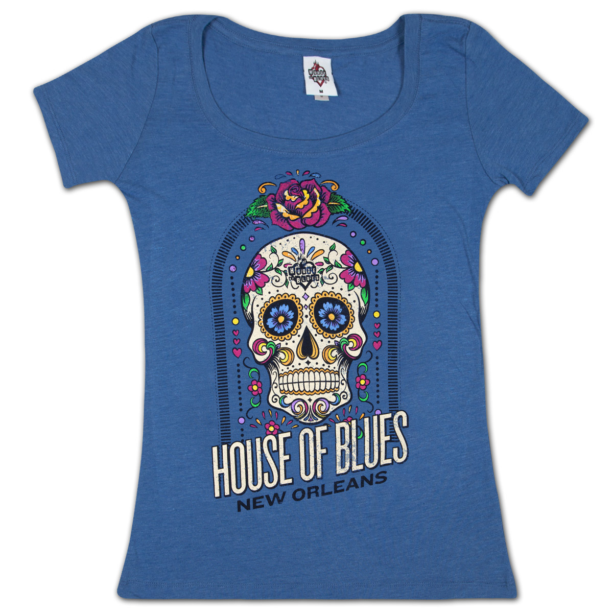 House Of Blues Sugar Skull Women 39 S T Shirt New Orleans