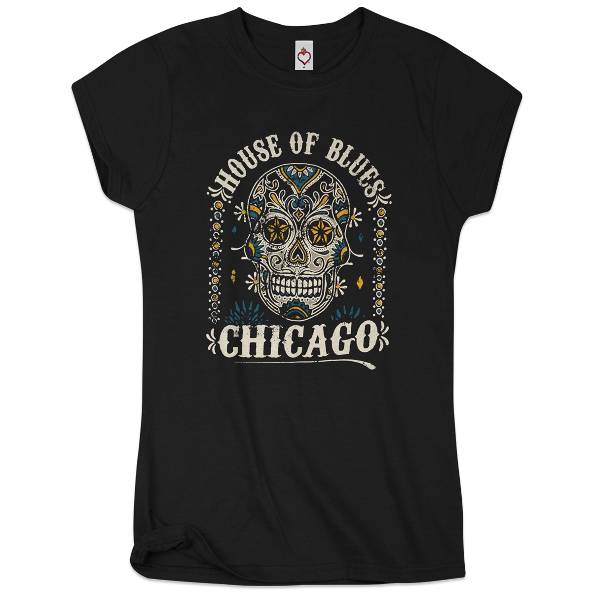 Sugar Skull Women's Tee - Chicago