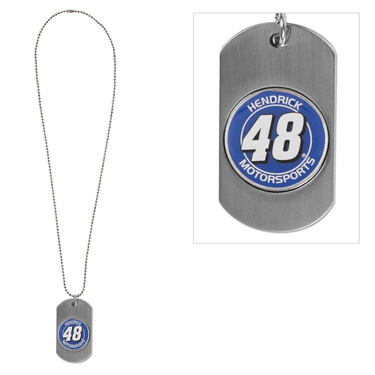 Hendrick MotorSports #48 Dog Tag