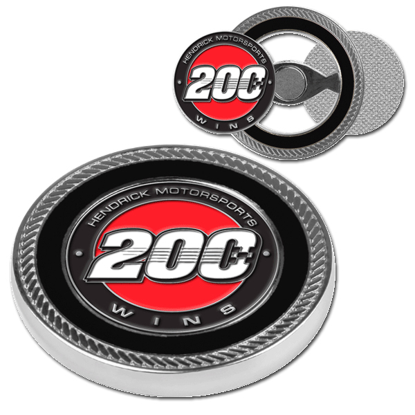 EXCLUSIVE Hendrick Motorsports 200th Win Challenge Coin