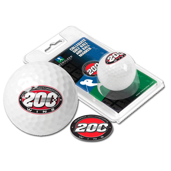 EXCLUSIVE Hendrick Motorsports 200th Win Golf Ball
