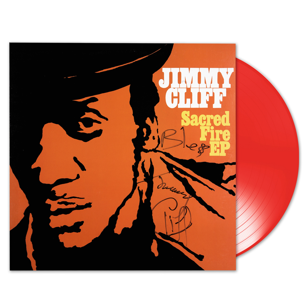 Jimmy Cliff - Sacred Fire EP (Signed)