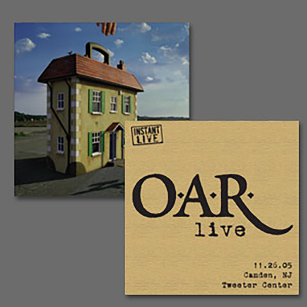 O.A.R. Live at Tweeter Center Camden, NJ 11/26/05 & their album ?Stories of a Stranger""