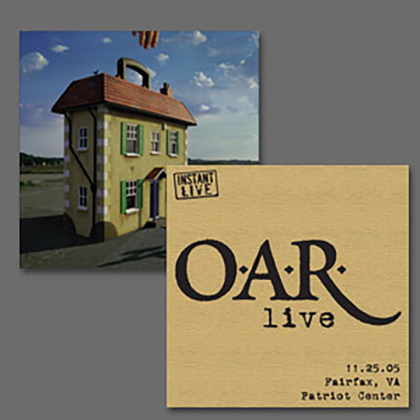 O.A.R. Live at Patriot Center Fairfax, VA 11/25/05 & their album ?Stories of a Stranger""