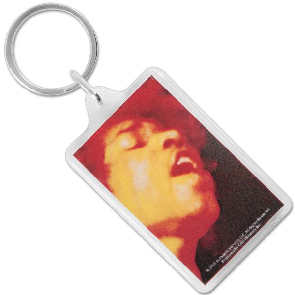 Jimi Hendrix Keychain Electric Ladyland