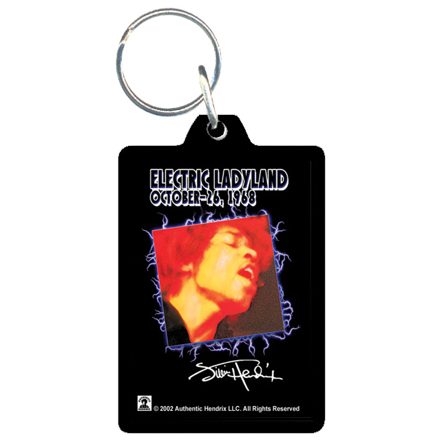 Acrylic Keychain Electric Ladyland
