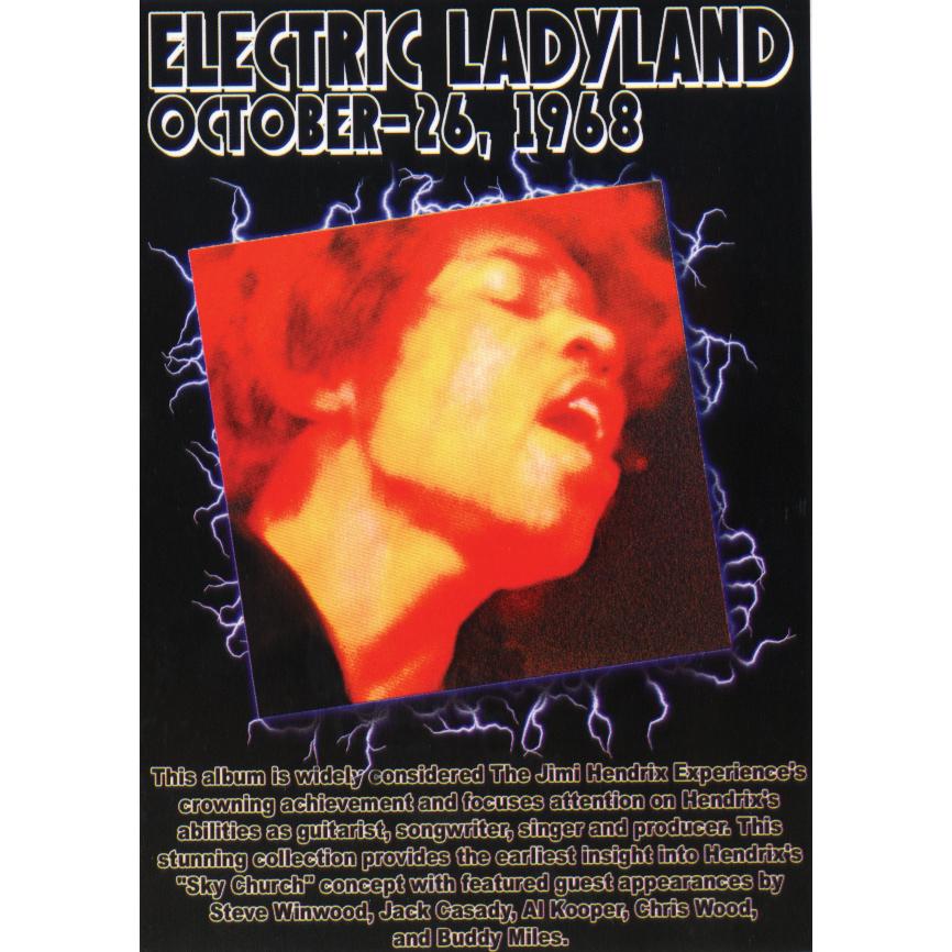 Electric Ladyland Postcard