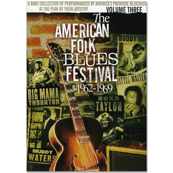 American Folk Blues Festival 1962-1969 Vol. 3 DVD