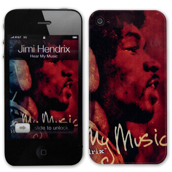 Jimi Hendrix Hear My Music iPhone 4/4S Skin