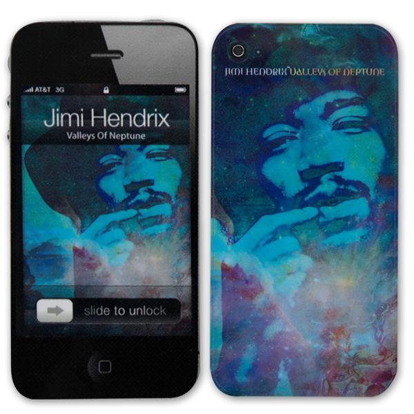 Jimi Hendrix Valleys Of Neptune iPhone 4/4S Skin