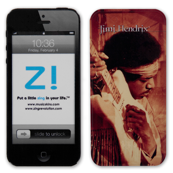 Jimi Hendrix Woodstock iPhone 5 Skin