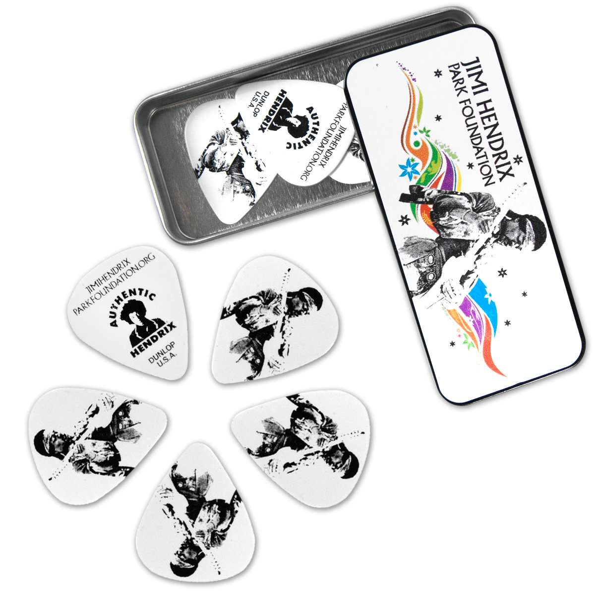 Jimi Hendrix Park Foundation Guitar Picks