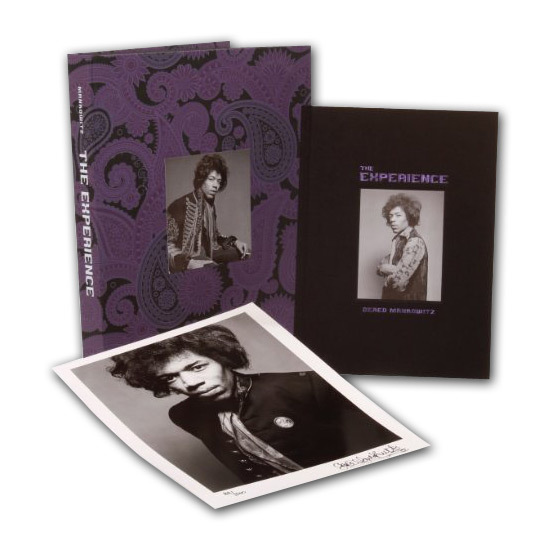 Jimi Hendrix The Experience Limited Edition Book