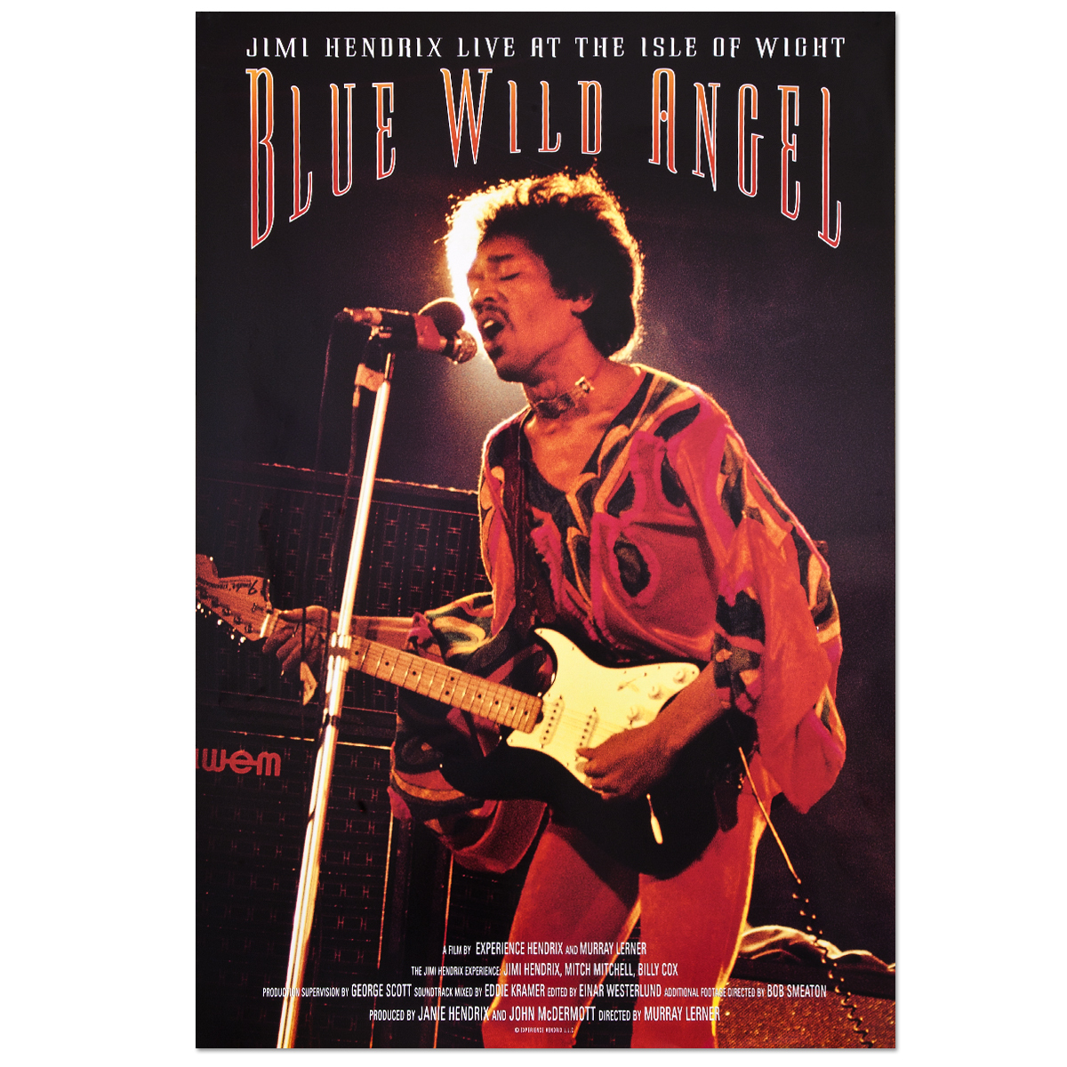 Blue Wild Angel (Original Movie) Poster