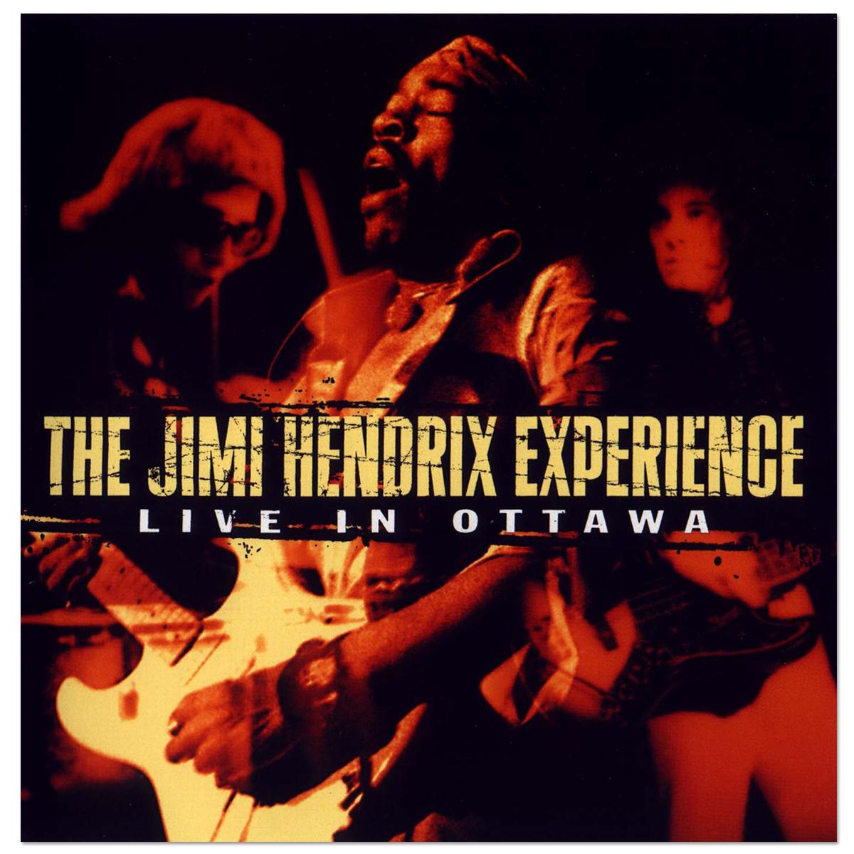 Jimi Hendrix Experience: Live In Ottawa DAGGER RECORDS CD