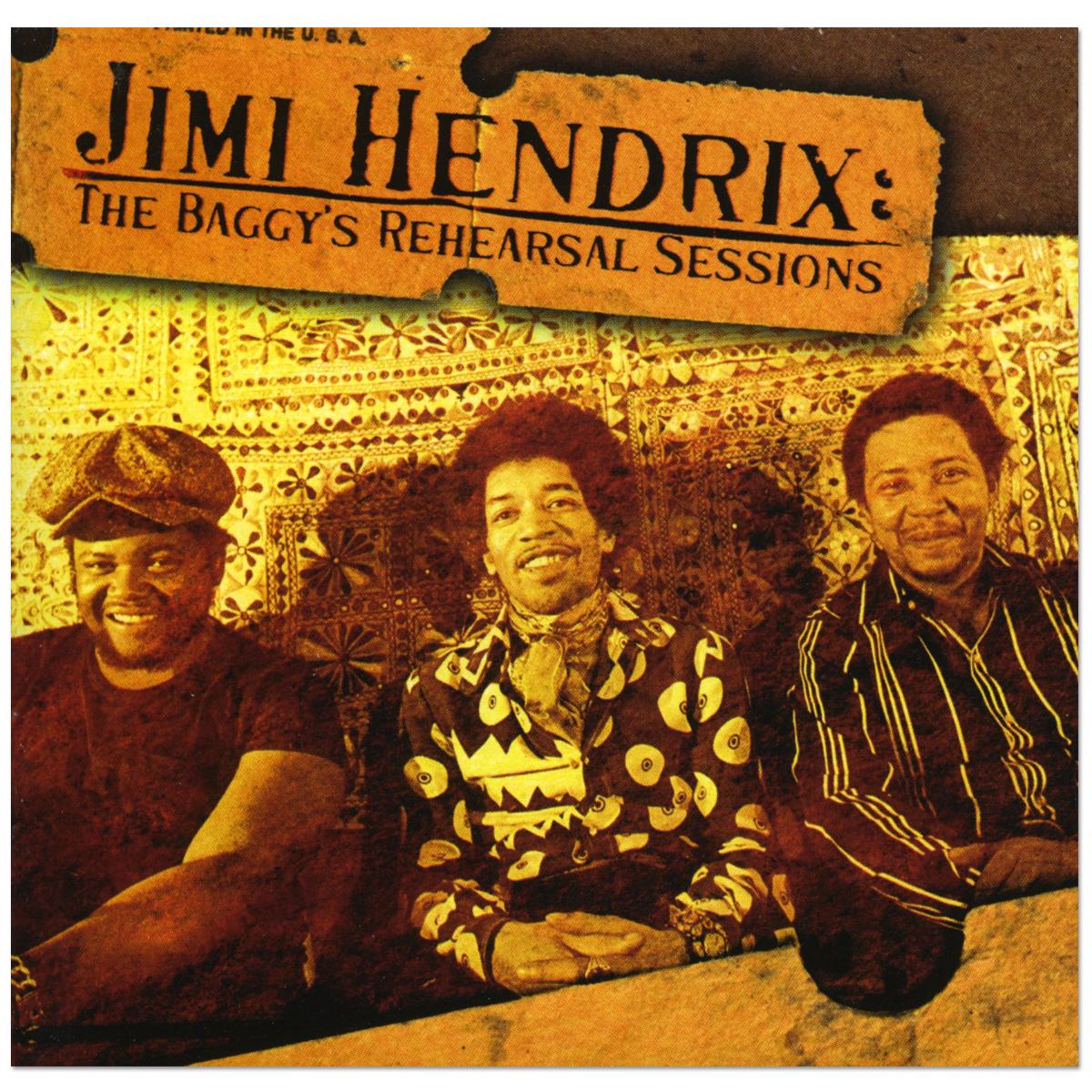 Jimi Hendrix: The Baggys Rehearsal Sessions DAGGER RECORDS CD