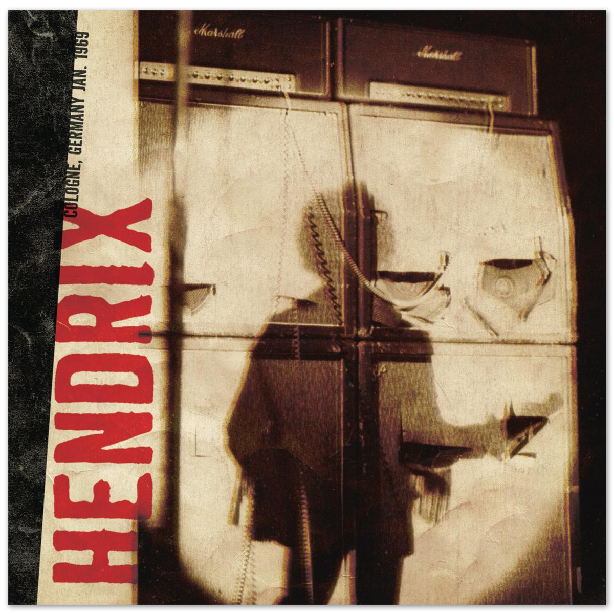 Jimi Hendrix Live at Cologne DAGGER RECORDS CD