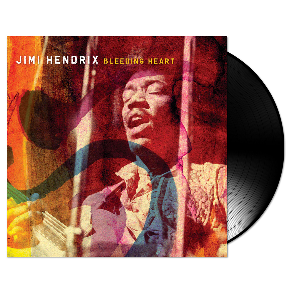"Jimi Hendrix Bleeding Heart - 7"" Single"